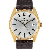 Hamilton new Manual winding Central seconds 34mm Steel
