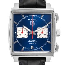 TAG Heuer Monaco Calibre 12 Steel 39mm Blue United States of America, Georgia, Atlanta