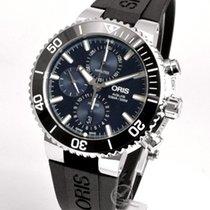 Oris Aquis Chronograph 45.5mm Blue