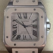 Cartier Santos 100 2878 Very good Steel 33mm Automatic Singapore, Singapore