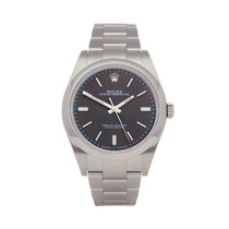 Rolex Oyster Perpetual 39 Steel 39mm Grey United Kingdom