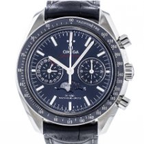 Omega Speedmaster Professional Moonwatch Moonphase occasion 44.2mm Phase lunaire Chronographe Date Cuir