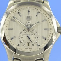 TAG Heuer Link Calibre 6 Steel 39mm Silver
