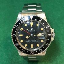 劳力士 GMT-Master 钢 40mm 黑色