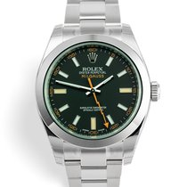 Rolex Milgauss Steel 40mm Black United Kingdom