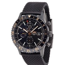 Breitling Chronoliner Steel 46mm Black