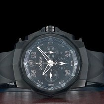 Corum Admiral's Cup (submodel) usado 48mm Preto Cronógrafo Data Borracha