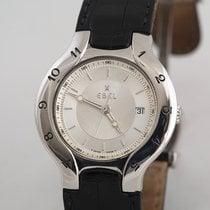 Ebel Lichine Steel 38mm Silver Arabic numerals