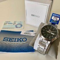 Seiko Silver Automatic Black Arabic numerals 42mm new 5