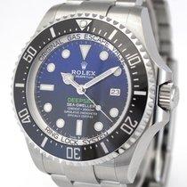 Rolex Sea-Dweller Deepsea Acél 44mm Kék Számjegyek nélkül