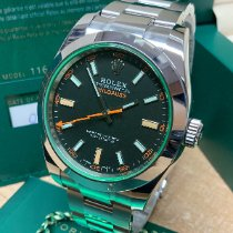 Rolex Milgauss Steel 40mm Black No numerals United Kingdom, Wilmslow