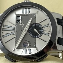 Ulysse Nardin 243-00/421 Steel 2017 Executive Dual Time 43mm pre-owned