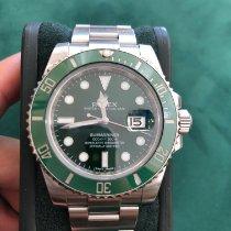 Rolex Submariner Date occasion 40mm Vert Date Acier