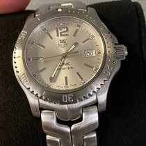 TAG Heuer Link Quartz pre-owned 40mm Silver Steel