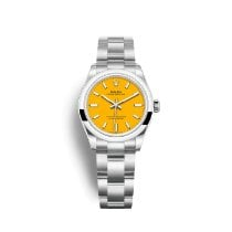 Rolex Oyster Perpetual 31 Steel 31mm Yellow No numerals United Kingdom, London