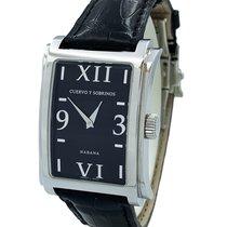 Cuervo y Sobrinos Женские часы Prominente 28mm Кварцевые новые Часы с оригинальными документами и коробкой