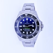 Rolex Sea-Dweller Deepsea Steel 44mm Blue No numerals United States of America, New York, Massapequa