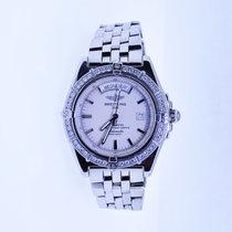 Breitling pre-owned Automatic White Sapphire crystal 50 ATM