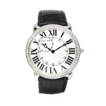 Cartier Ronde Louis Cartier White gold 42mm Silver Roman numerals United States of America, Arizona, Scottsdale