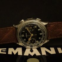 Lemania Steel 37mm Manual winding 44815 pre-owned