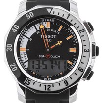 Tissot Sea-Touch Acero 45mm Negro