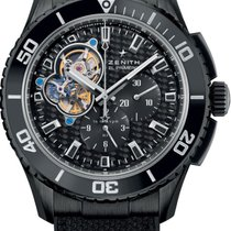 Zenith El Primero Stratos Spindrift Steel 45mm Black No numerals United States of America, Texas, Houston