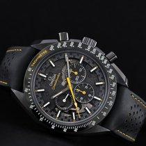 Omega Céramique Remontage manuel Noir Sans chiffres 44.25mm nouveau Speedmaster Professional Moonwatch