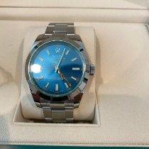 Rolex Milgauss Steel 40mm Blue No numerals United States of America, California, Irvine