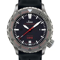 Sinn U212 Steel 47mm Black