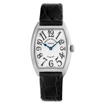 Franck Muller Cintrée Curvex White gold 29mm Silver Arabic numerals United States of America, Florida, Surfside