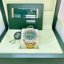 Rolex GMT-Master II 116718LN Ungetragen Gelbgold 40mm Automatik Schweiz, lugano