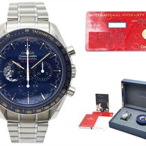 Omega Speedmaster Professional Moonwatch occasion 42mm Bleu Chronographe Acier