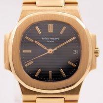 Patek Philippe Nautilus 3800/001 Πολύ καλό Κίτρινο χρυσό 37mm Αυτόματη