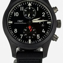 IWC Pilot Chronograph Top Gun Ceramic 46mm Black United States of America, Illinois, BUFFALO GROVE