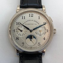 A. Lange & Söhne 1815 Or blanc 40mm Argent Arabes