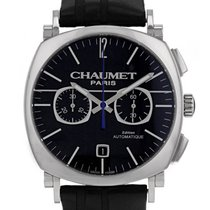 Chaumet pre-owned Automatic 40mm Black Sapphire crystal
