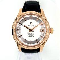 Omega De Ville Hour Vision usados 41mm Plata Fecha Oro rosa