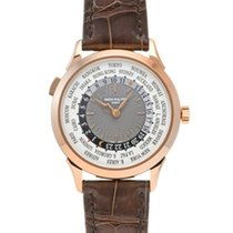 Patek Philippe 5230R-001 Oro rosa 2020 World Time 38.5mm usados