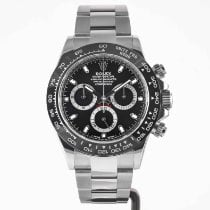 Rolex Daytona Steel 40mm Black No numerals United States of America, Massachusetts, Boston