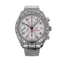 Omega Steel Automatic 39mm pre-owned Speedmaster Date