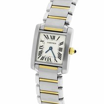 Cartier Tank Française Gold/Steel 20.2mm Roman numerals United States of America, New York, Massapequa Park