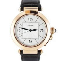 Cartier Pasha Rose gold 41mm White Arabic numerals United States of America, New York