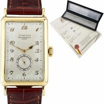 Patek Philippe Vintage Yellow gold 25mm Silver Arabic numerals United States of America, New York, Massapequa Park