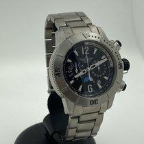 Jaeger-LeCoultre Master Compressor Diving Chronograph Titane 44mm Noir Sans chiffres