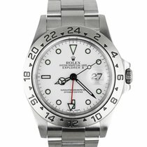 Rolex Explorer II Steel 40mm White United States of America, New York, Smithtown