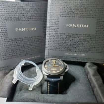Panerai Carbon Automatic Black Arabic numerals pre-owned Luminor Marina 1950 3 Days Automatic