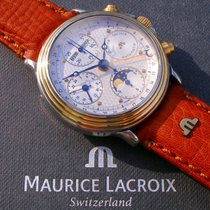 Maurice Lacroix 02336 Very good Gold/Steel 37mm Automatic