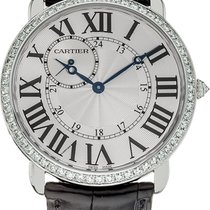 Cartier White gold Manual winding 42mm new Ronde Louis Cartier