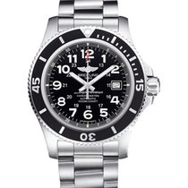 Breitling Superocean II 44 new 2021 Automatic Watch with original box and original papers A17392D7/BD68/162A