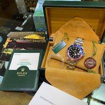 Rolex GMT-Master Stahl Schwarz Keine Ziffern Schweiz, Maroggia